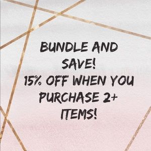 Bundle and Save! We Love Offers!